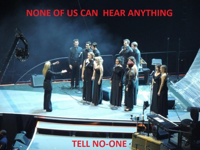 Voce/LYC on stage at the O2
